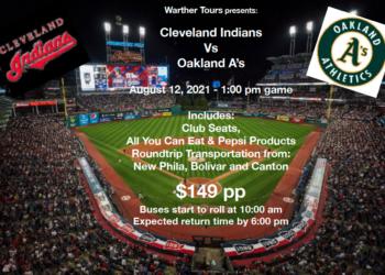 Cleveland Indians vs Oakland A's